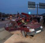 Korkuteli'nde Korkunç Kaza