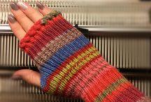 Strickanleitung fingerlose  Handschuhe