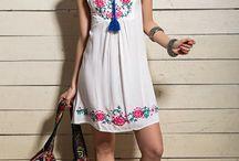 vestido bordados