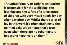 Being a Teacher / What it is to be a teacher.