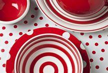 red polka dot kitchen / red polka dot kitchen