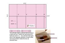 card in a box measurements and how to
