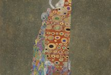 Gustav Klimt / A selection of Klimt's instantly recognizable work, available from around the internet.