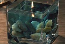 свечи, мыло