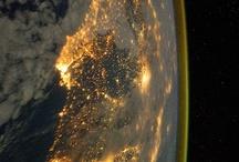 Le luci della notte sulla Terra