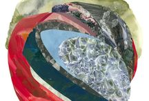 Summer Invitational Group Show / Featuring Xochi Solis (collage paintings), Lorene Anderson (abstracted landscape), and Anna Buckner (quilted paintings). On view August 4th - September 3rd http://bit.ly/2aEvXtm