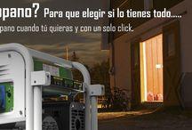Generadores Gas y Gasolina / Genergy te ofrece generadores que funcionan tanto a gas (propano, butano, lpg) como a gasolina, con la posibilidad de intercambiar entre un combustible y otro sin parar el motor. Ahorra y respeta el medio ambiente.