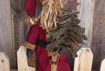 dolls - santas/elves/ginger/snowmen