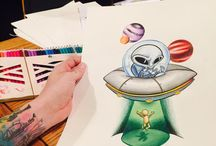 dibujos, arte