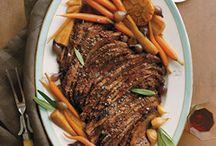 Cooking / Meat brisket