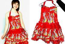 strange dresses
