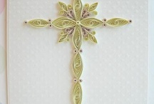 Religious quilled cards