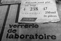 Verrerie de laboratoire / Vintage glass