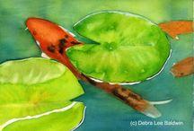Animal Paintings by Nancy Lane Studio / Animal paintings by Nancy Lane; www.nancylanestudio.com