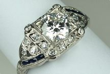 Made about Antique Rings / Pretty rings antique settings & new too! / by Gwynn Butterfield