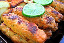 Hot Kebabs / Different Kebabs recipes : chapli kebab, malai kebab, chikn kebab, salmon kebab.