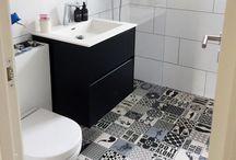 """postcards"" from customers / tiles interior design back splash kitchen decor bathroom sage colorfull"