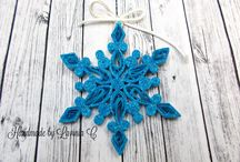 Quilling snowflakes / Fulgi-stelute / snowflakes