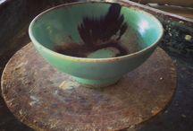 Art | Pottery Plates + Bowls