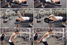 Chest + triceps