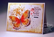 Stampin Up Water Color Wings