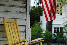 Americana Homestead / A patriotic themed board. / by Barbara Wedderman
