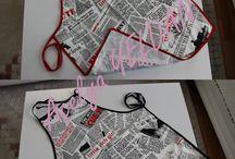 Stitch projects for home / önlük, örtüler