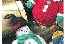 Crochet ~ Christmas, New Years, Winter / by Eve Slacum-Myers