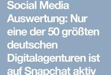 Social Media Statistiken / Social Media Statistics / Eine Sammlung von Social Media Statistiken - mit dem Schwerpunkt beratende Unternehmen, Berater und Agenturen.