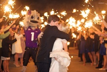TCU Weddings / Horned Frog weddings! / by TCU