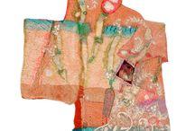 Textile art Marijke Leertouwer