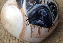 Sassi animali / Animali dipinti su sassi