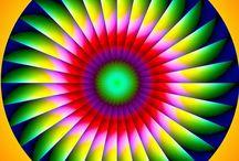 Ilusiones ópticas / Efectos visuales.