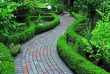 senderos para jardin