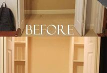 Bedroom Organization / Ways to eliminate clutter