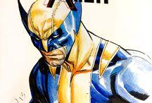 Marvel Heroes - Wolverine & X-Men Art