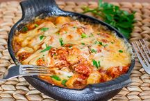 pasta / recipes where the pasta is the star of the dish - carb lovers delight / by Plain Chicken