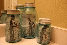 mason jar crafts / by Rachel McKinney
