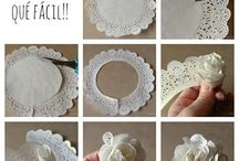 Fun with Doilies!