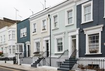 Hillgate Place, Notting Hill / A full refurbishment of a 3-bedroom terraced house at the heart of London in an beautiful pastel green palette. This house is the perfect blend between the modern and the traditional.