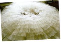 Tutu's, weddingdresses and petticoats / I love tule