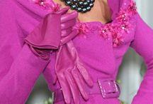 Orchid & Fuchsia Fashion