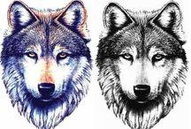 Tatuaże wilk