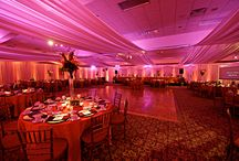Event Lighting / There's nothing more beautiful than a well lit room and as we say, Let There Be Light! Here are some of our favorite looks achieved with great lighting.