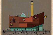Trazos   Music into architecture