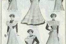 1870's garments