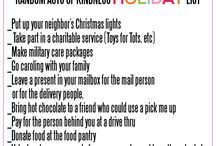 Acts of Kindness (Random)