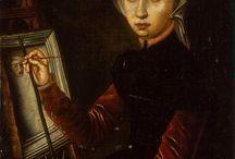 Dones pintores (Autoretrats)