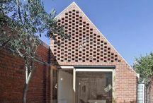 open-work stone facades