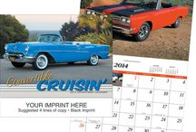 Calendars / Our other new product category: custom calendars and calendar magnets/pads.